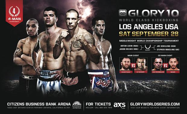 دانــلود مسابقات گلوری 10 |  kickboxing |  Glory 10: Los Angeles