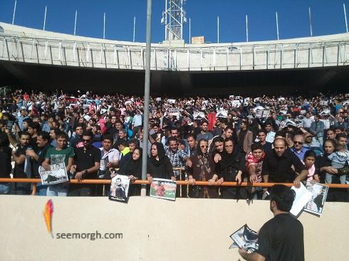 مراسم تشییع پیکر هادی نوروزی در ورزشگاه آزادی , اخبار ورزشی