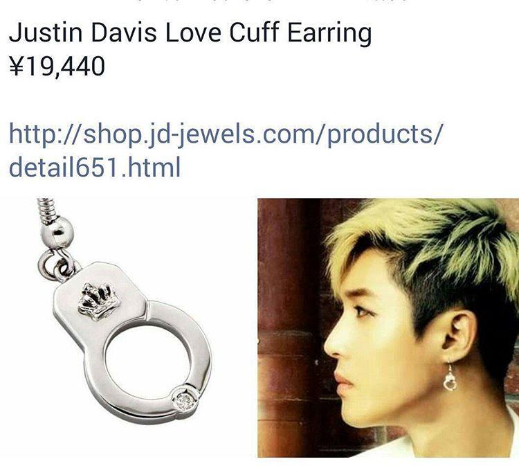 Sponsor - Justin Davis Love Cuff Earing