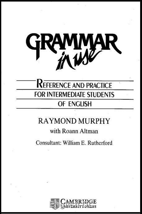 دانلود کتاب Grammar in Use