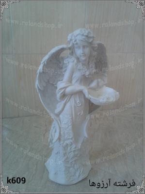 فرشته آرزوها پلی استر ، مجسمه پلی استر، تولید مجسمه، مجسمه رزین، مجسمه، رزین، ساخت مجسمه، پلی استر