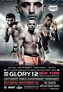 دانــلود مسابقات گلوری 12 | kickboxing | Glory 12: New York