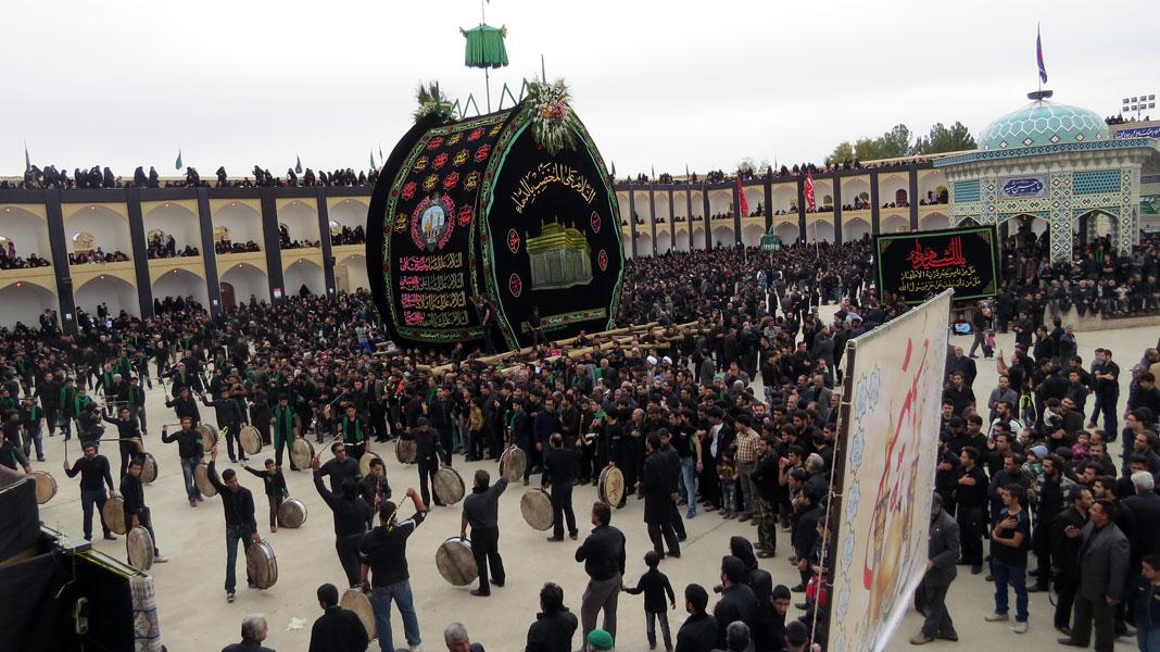 عاشورای حسینی در شهرستان اشکذر