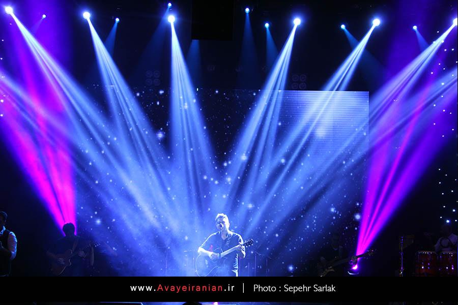 سری دهم تصاویر کنسرت 7 مهر 94 حمید عسکری