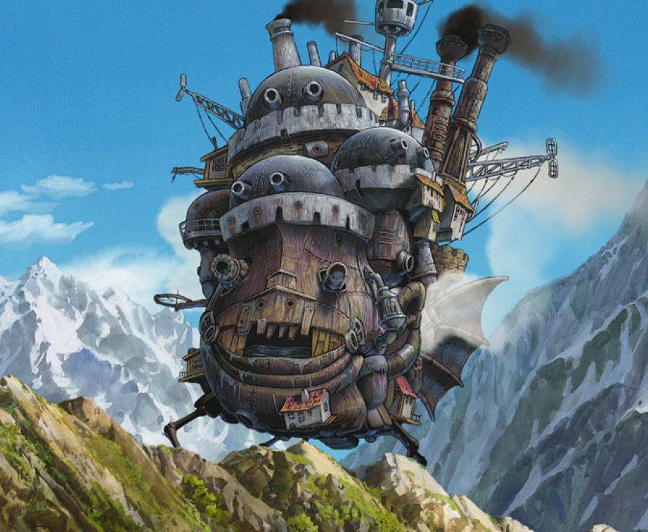 Howl's Moving Castle - 2004 -  Hayao Miyazaki - قلعه متحرک هاول - میازاکی