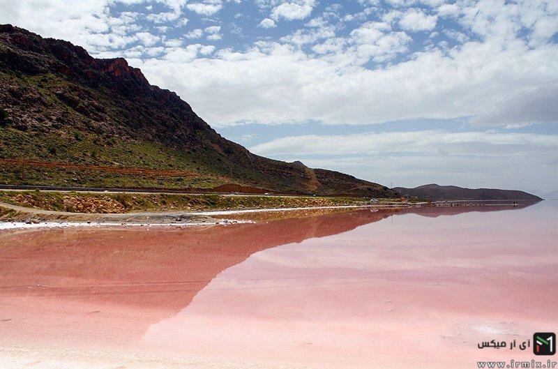 دریاچه قرمز در استان فارس