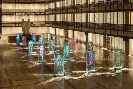 مجسمه شیشه ای سه بعدی