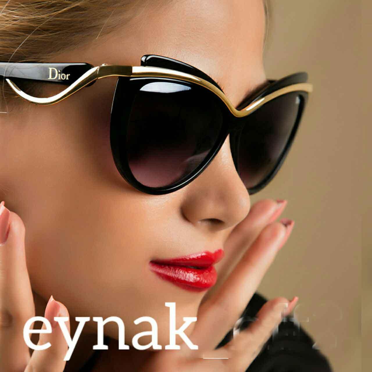 عینک دودی زنانه دیور