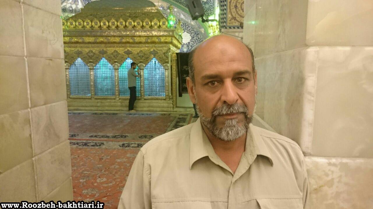 سردار شهید حاج فرشاد حسونی زاده