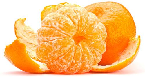 نارنگی با پوست
