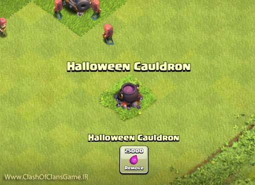 Cauldron clash of clans
