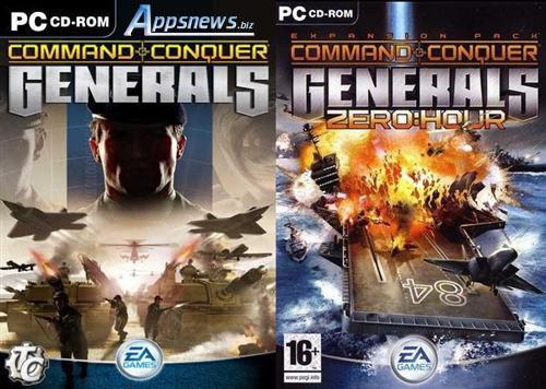 دانلود بازی جنرال 1 و 2 - Generals 1 & 2 برای ویندوز