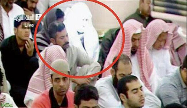 انتشار تصاویری از مرد نورانی در مسجد النبی !! , اخبار گوناگون