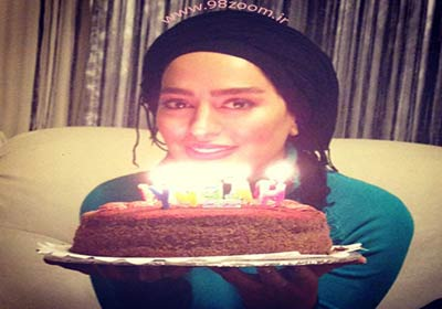 تصاویر جشن تولد سمانه پاکدل , عکس های بازیگران