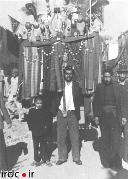 علم برداری تهران قدیم