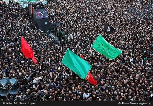 Ashura Shia Muharram Mourning Iran