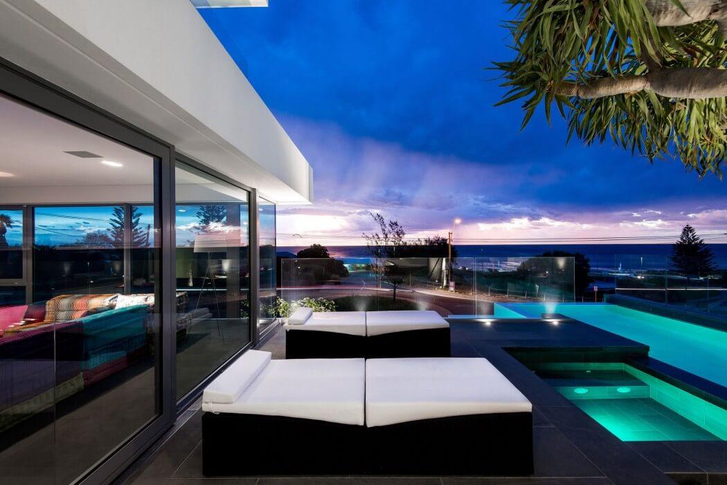 خانه ای با معماری متفاوت و مدرن در استرالیا