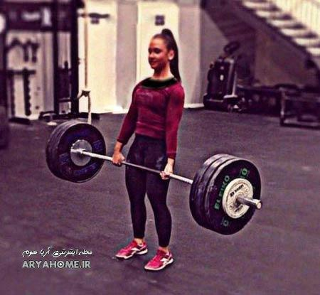 قدرت بدنی فوق العاده این دختر 18 ساله +عکس , جالب وخواندنی