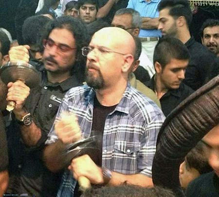 عزاداری جناب خان در مراسم بوشهر , تئاتر وتلویزیون