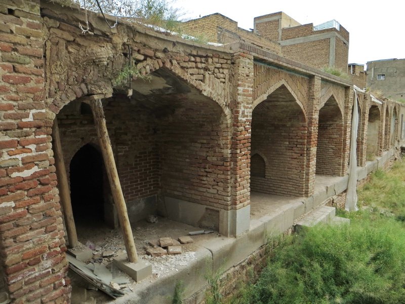 تخریب میدان حسن پادشاه تبریز (صاحب الامر میدانی)