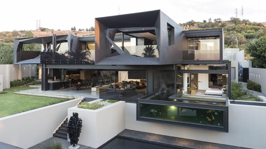 طراحی و اجرای ویلایی متفاوت در افریقای جنوبی