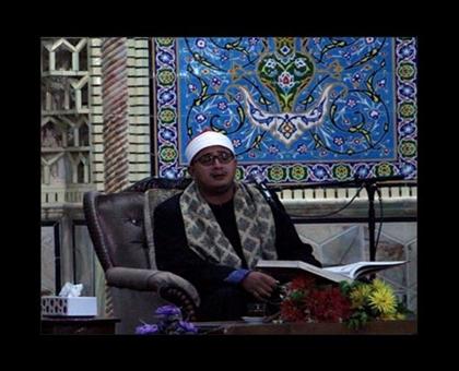 تصاویر استاد محمود شحات انور در مسجد جامع زارچ یزد/آبان94