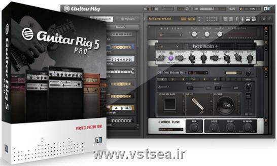 دانلود وی اس تی گیتار ریگ5 -Native Instruments Guitar Rig v5.2.0 Pro