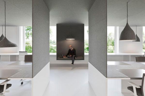 طراحی دفتر کار (فضای اداری) در آمستردام