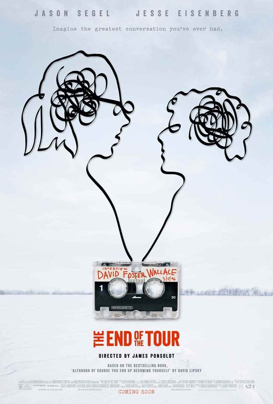فیلم The End of the Tour 2015