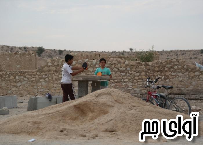 ابتکار نوجوانان یکی از روستاهای جم در ورزش/عکس