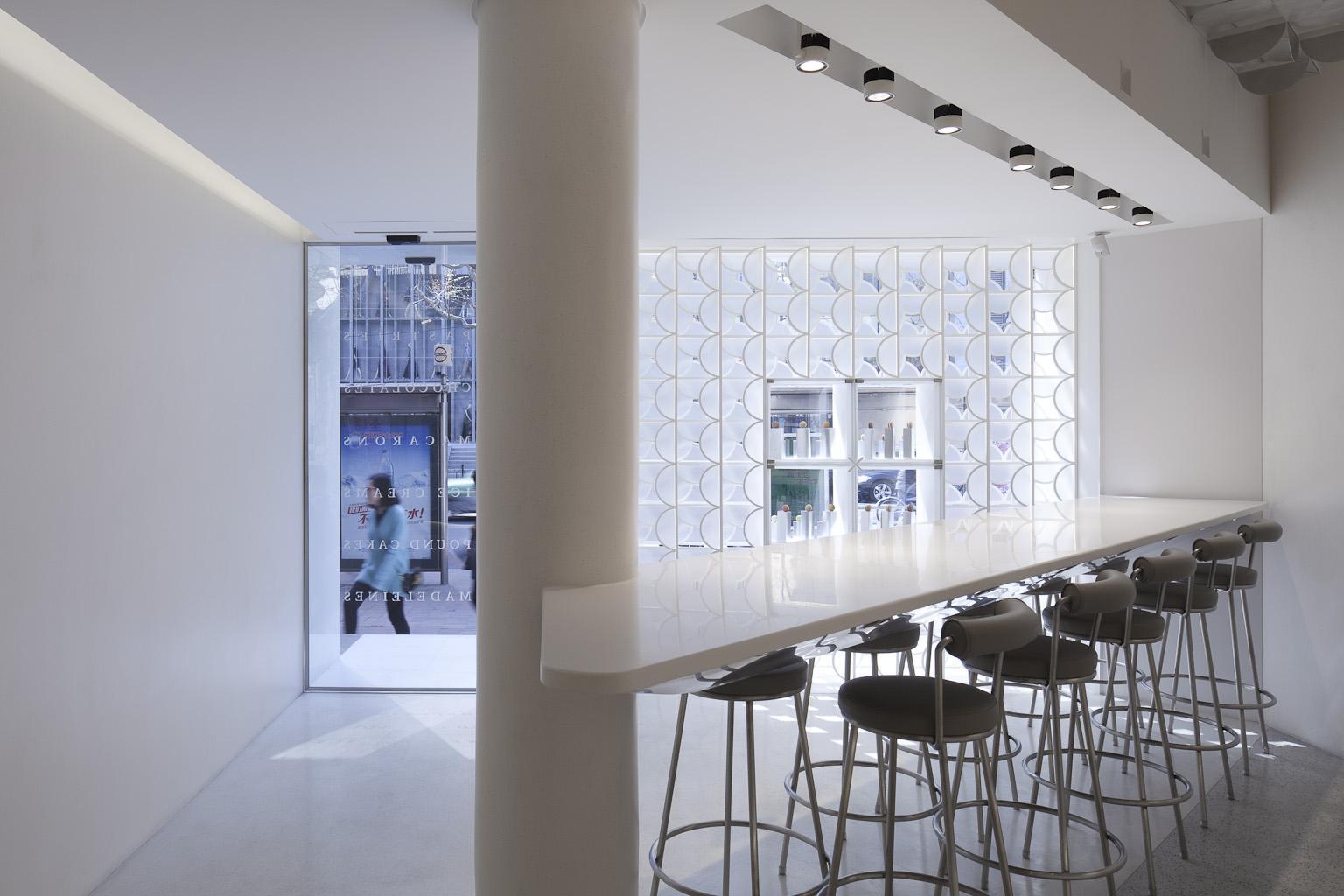 طراحی دکوراسیون مغازه و فروشگاه شیرینی پزی