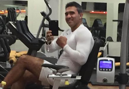 بدن عضلانی و شش تکه عابدزاده +عکس , اخبار ورزشی