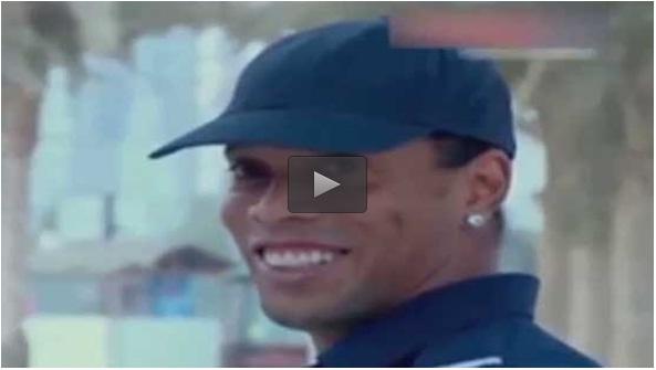 رونالدینیو پلیس می شود + فیلم , ویدیو