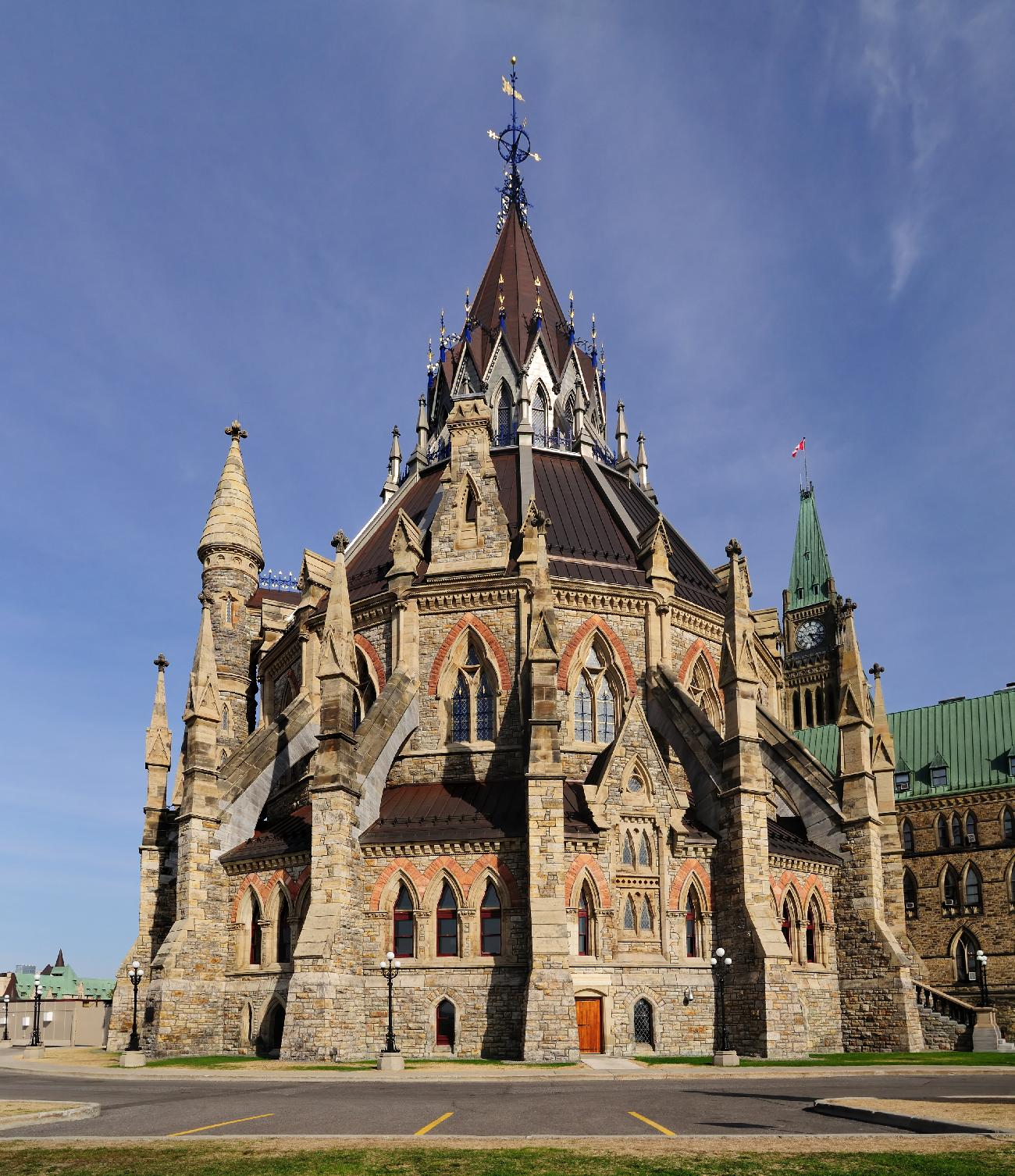 library of parliament ottawa- خیالباف -  daydreamer