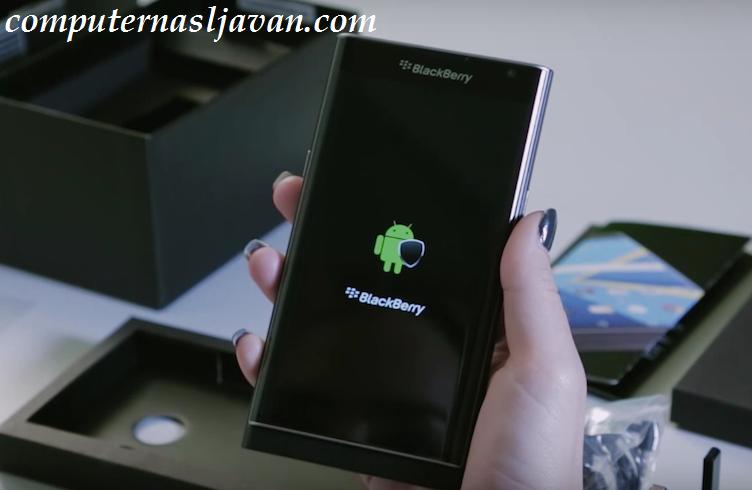 ویدیو جعبه گشایی BlackBerry PRIV