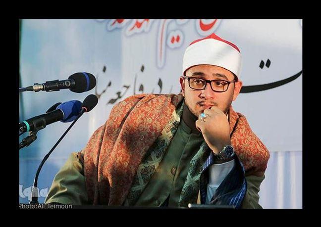 تصاویر استاد محمود شحات انور در اختتامیه مسابقات مشهد/ آبان94