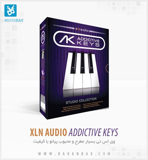 دانلود وی اس تی پیانو XLN Audio Addictive Keys