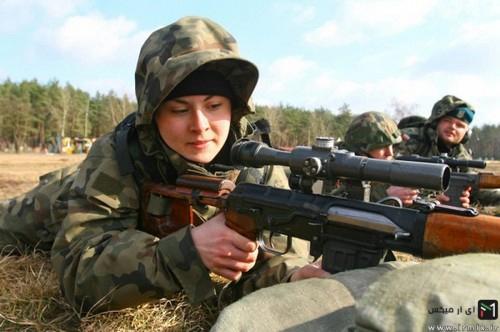 عکس دختر های خفن و جذاب ارتشی