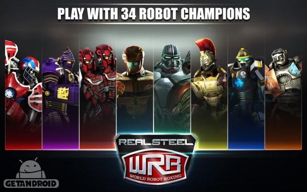دانلود Real Steel World Robot Boxing 19.19.482 بازی بوکس ربات ها اندروید
