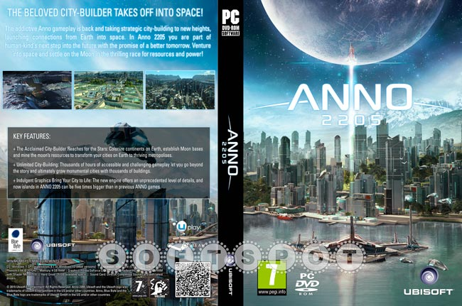 کاور بازی Anno 2205