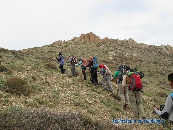 مسیر قله اوریم (سنگر)