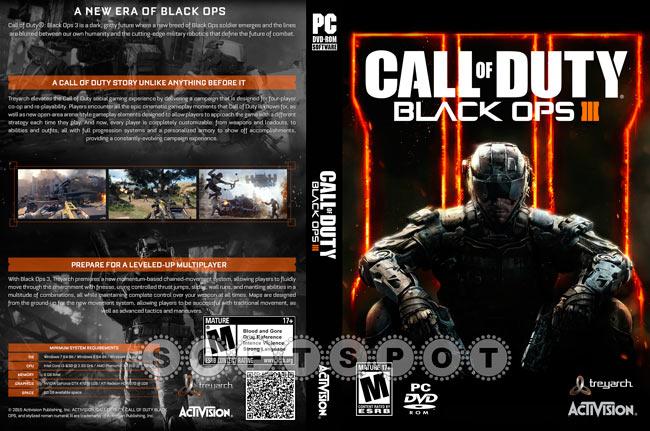 کاور بازی Call of Duty: Black Ops III