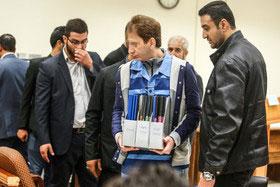 ششمین جلسه رسیدگی به پرونده زنجانی , سیاسی