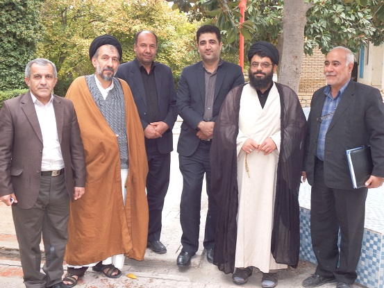 جلسه هم اندیشی با روحانیون شهر