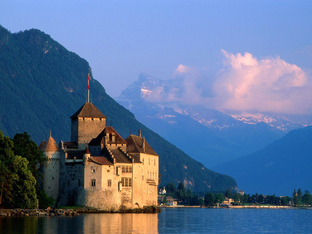 Chillon Castle  Switzerland