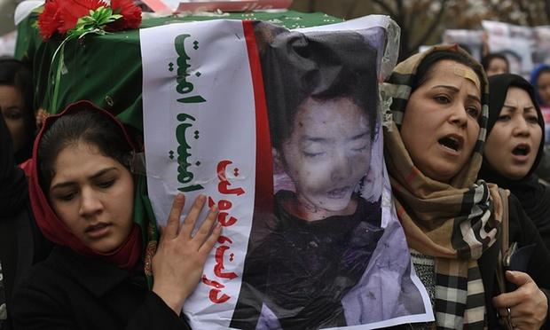 متن کامل قطع نامه تظاهرات میلیونی دادخواهی امروز کابل در پیوند به حادثه شهدایی زابل