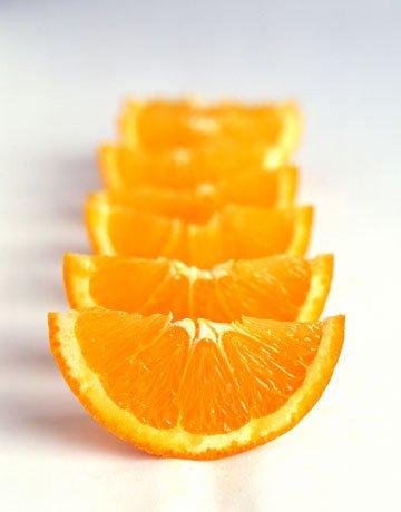 پرتقال قاچ کن