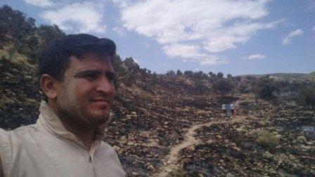 مهار آتش سوزی در کوه بیل 16تیرماه 1394