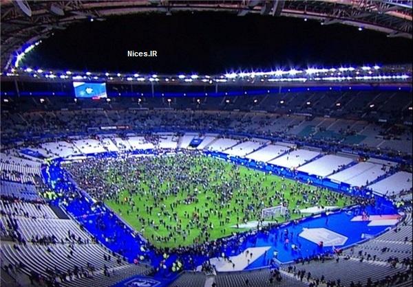 ورزشگاه بازی فرانسه و آلمان