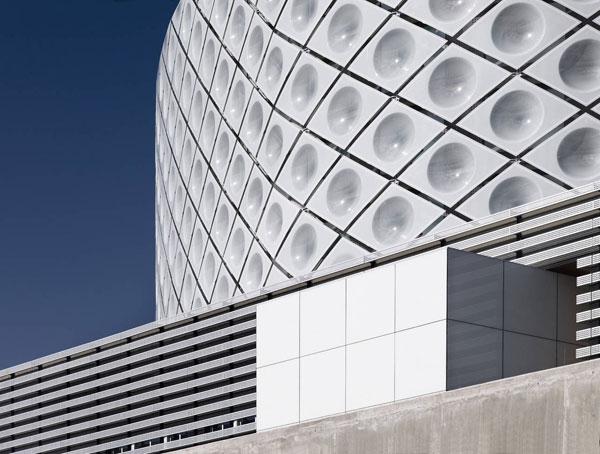 بیمارستان با معماری مدرن و انرژی مثبت